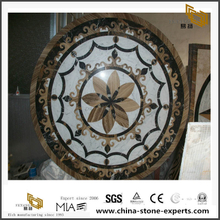 Marble Mosaic Medallion By Waterject Stone Wholesale For Flooring