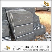 Hainan Black Basalt Honed Tiles
