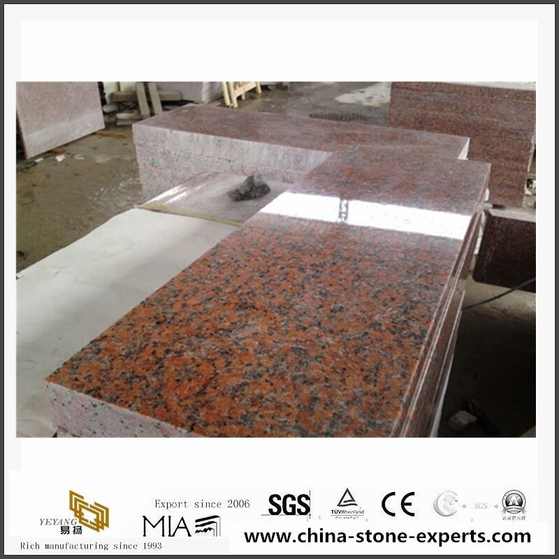 Cheap-China-Own-Factory-Red-Granite G562 Red Granite-for-Wall-Cladding-Tile3