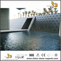 Chinese G654 Dark Black Granite Projects
