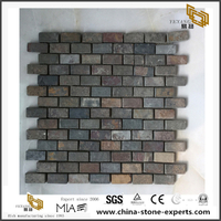 Classic Natural Slate Stone Mosaic Old Look Style Discount Sale
