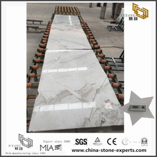 New Polished Castro White Marble Slab for Flooring with best prices (YQW-MSA071104)