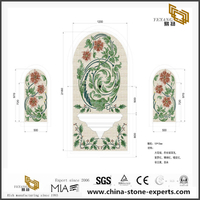 Pattens Flower Medallion Marble For Floor Medallions Tiles Discount Online
