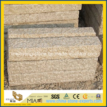 G682 Rusty Yellow Granite Palisade for Outdoor Garden