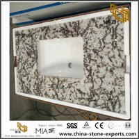High Polished Ice Blue Granite Countertop Wholesale