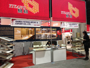 Stone Fair:Xiamen Yeyang Stone Factory ——USA-Stone Fair on 2013