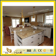 New Giallo Cecilia Yellow Granite Countertop (YQW-GC1003)