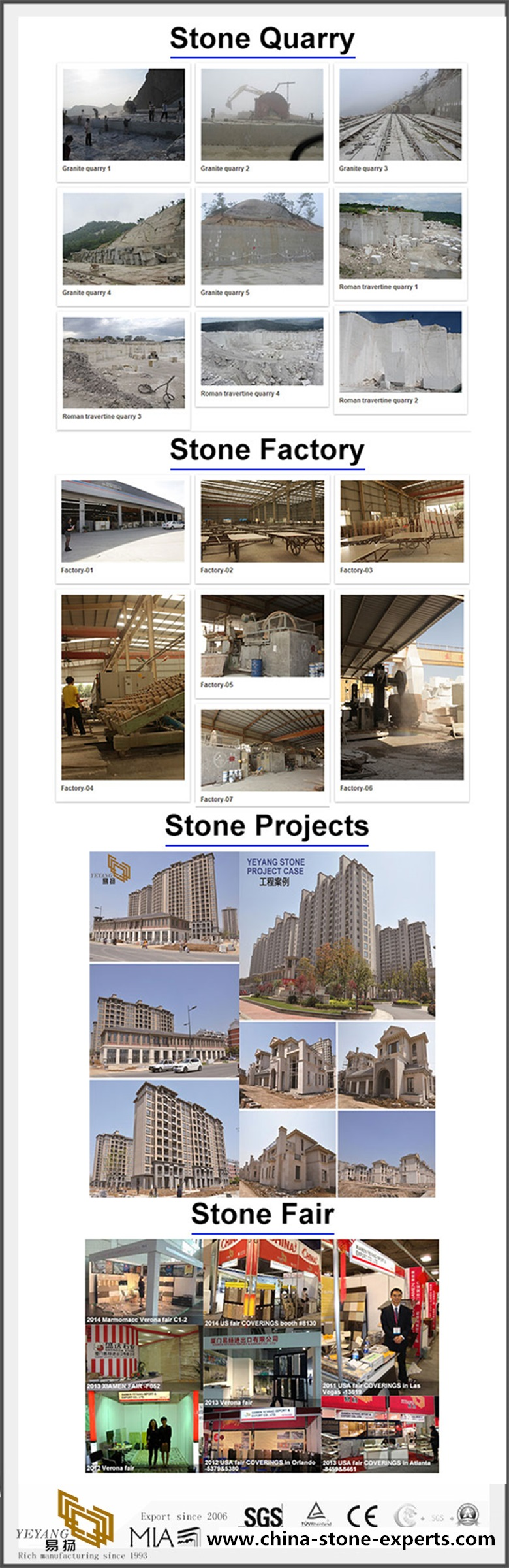 02 Yeyang Quarry+factory+project+fair