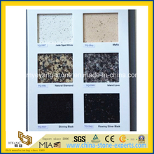 Artificial Quartz Solid Surface Material for Kitchen or Countertop