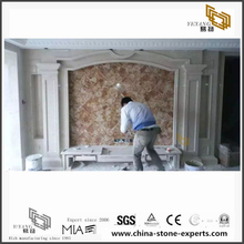 Multicolor Luxury Onyx Wall Marble Backgrounds for Bathroom Design (YQW-MB0726023)