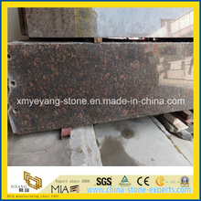 Prefabricated Tan Brown Granite Countertop Slab (YQW-GS22201)