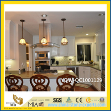 Custom Brown Quartz Stone Countertops for Bathroom/ Kitchen / Hotel