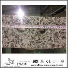 Different Bianco Taupe White Granite Countertops for Kitchen (YQW-GC0524010)