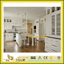 Cheap White Polished Marble Stone Countertop for Kitchen / Hotel