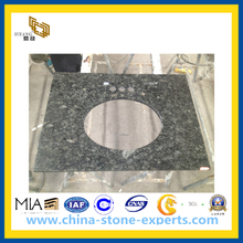 Chinese Butterfly Green Granite Vanity Tops for Bathroom (YQG-GC1074)