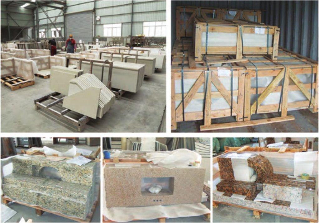 stone countertop packing