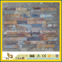 Dark Rusty Slate Stone Veneer for Exterior Wall Cladding