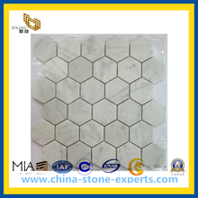 China White Pattern Marble Mosaic Tile (YQC)