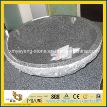 G654 Padang Dark Granite Washing Basin for Bathroom