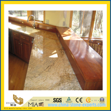 High Quality Polished Butterfly Beige Marble Countertop for Kitchen/Bathroom (YQC)