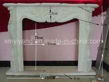 Natural Stone-Marble & Granite Fireplace (YY-VF)