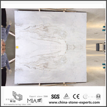 Natural New Arabescato Venato White Marble Slab for Bathroom flooring (YQW-MSA06051905)