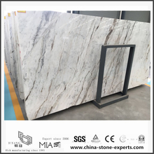 Buy Discount New Polished Arabescato Venato White Marble for Wall Tiles (YQW-MSA0621006)