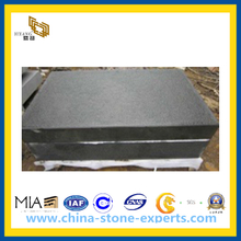 Black Basalt Tiles for Interior and Outdoor Flooring (YQW -BT1001)