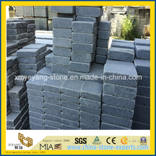 G654 Padang Dark Granite Tumbled Paver for Driveway
