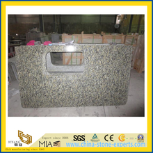 High Polished New Caledonia Granite Countertop for Kitchen/Bathroom