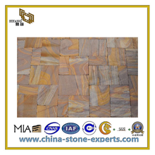 Natural Red/Green/Grey/Yellow/White/Purple Sandstone for Wall and Flooring(YQC)