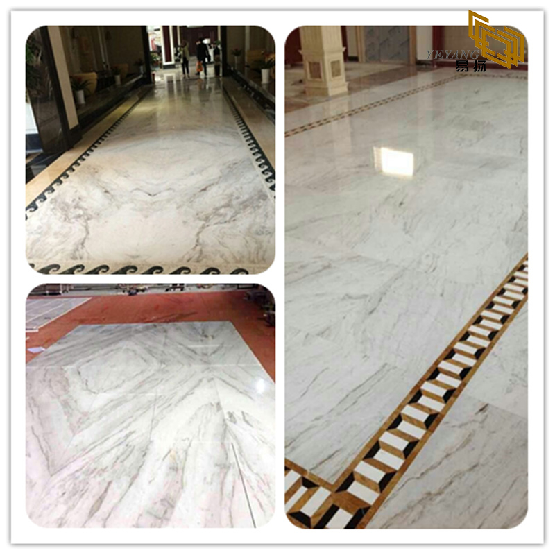 TOP New Arrival Arabescato Venato White Marble for Indoor Decoration (YQW-MSA21010)