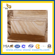 Natural Yellow Sandstone Mushroom for Wall Cladding(YQG-PV1069)