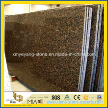 Polished Baltic Brown Granite Slab for Countertop or Cut-to-Size