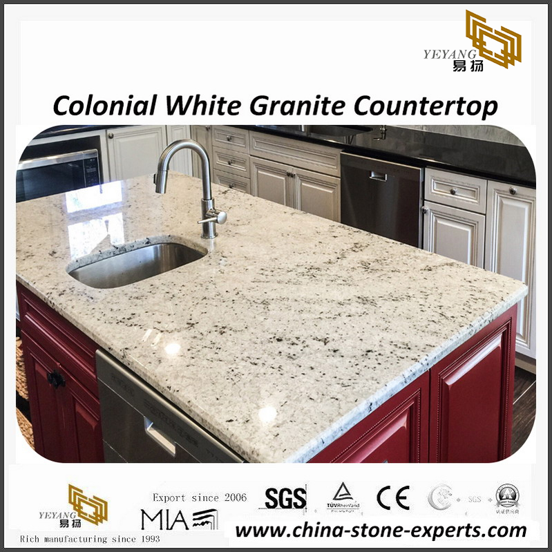 Brilliant Colonial White Granite Tops For Commercial Residential Project